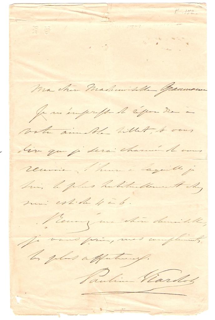 Lettera M-Me Graumann